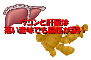ウコンの副作用|肝臓の病気などを悪化させる可能性がある