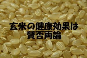 栄養価や解毒効果に優れた玄米|ミネラル損失の欠点もある