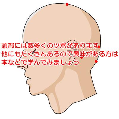 薄毛対策にいい頭のツボの場所|特に重要なのは百会(ひゃくえ)