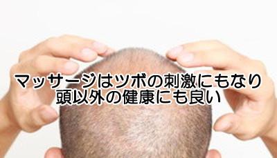 頭皮マッサージは血行を良くするだけでなく毒素の排泄にも役立つといわれる
