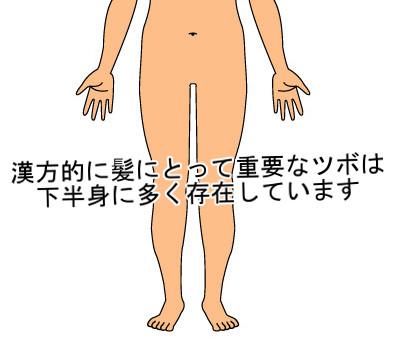 育毛に直接関係するツボ|漢方的には足に存在する5つのみ