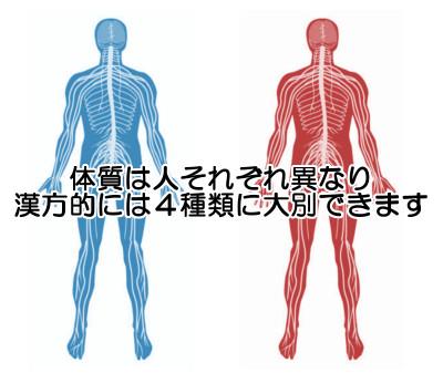 薄毛対策の出発点は体質を知ること|漢方医学独特の分類法