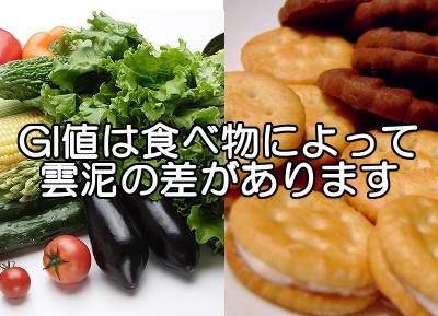 GI値が低い食べ物の代表例|高いものとあわせてチェックしよう