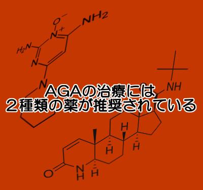 agaを少しでも早く治すにはプロペシアに加えミノキシジルを併用する方法が推奨されている