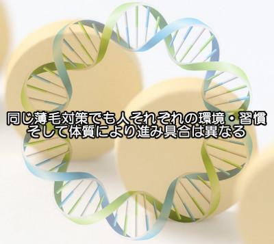 フィナステリドが効かない最大の要因|DNAに隠された薄毛情報