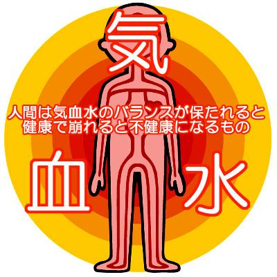 漢方では気血水という考えがあり体質改善に大いに役立つものである