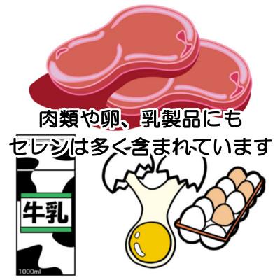 セレンは肉類の多くに含まれていますが食べ過ぎは健康に悪いので十分注意する