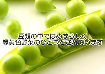 えんどう豆は育毛の手助けとなる?|栄養価に優れた緑黄色野菜