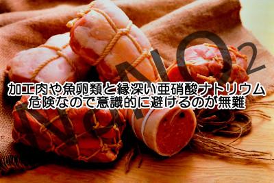 肉類や魚卵に多用される亜硝酸ナトリウムと発がん性の関係