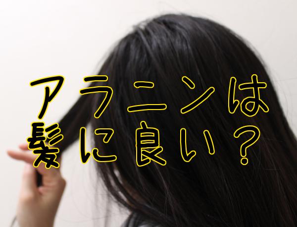 アラニンと育毛の間接的な関連|肝臓や頭皮に良さそう