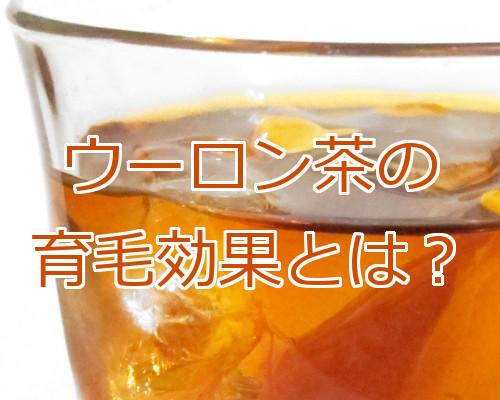 リーブ21が烏龍茶に育毛効果があると発表 気になる事色々